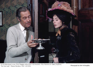 """My Fair Lady""Rex Harrison, Audrey Hepburn1963 / Warner Brothers © 1978 Bob Willoughby - Image 3604_0877"