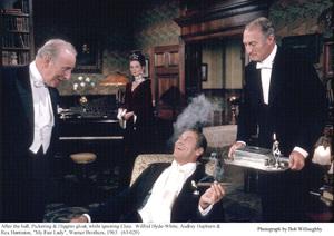 """My Fair Lady""Wilfrid Hyde-White, Audrey Hepburn, Rex Harrison1963 / Warner Brothers © 1978 Bob Willoughby - Image 3604_0879"