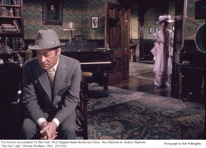 """My Fair Lady""Rex Harrison, Audrey Hepburn1963 / Warner Brothers © 1978 Bob Willoughby - Image 3604_0882"
