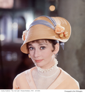 """""""My Fair Lady""""Audrey Hepburn1963 / Warner Brothers © 1978 Bob Willoughby - Image 3604_0885"""