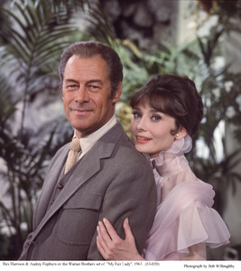 """My Fair Lady""Rex Harrison, Audrey Hepburn1963 / Warner Brothers © 1978 Bob Willoughby - Image 3604_0891"