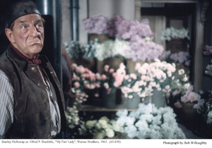 """""""My Fair Lady""""Stanley Holloway1963 / Warner Brothers © 1978 Bob Willoughby - Image 3604_0896"""