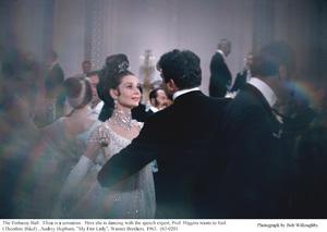 """My Fair Lady"" Audrey Hepburn, Theodore Bikel 1963 Warner Brothers © 1978 Bob Willoughby - Image 3604_0901"