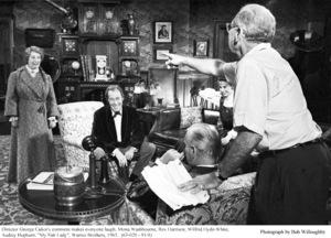 """My Fair Lady""Mona Washbourne, Rex Harrison, Wilfrid Hyde-White, Audrey Hepburn, Dir. George Cukor.1963 / Warner Brothers © 1978 Bob Willoughby - Image 3604_0910"