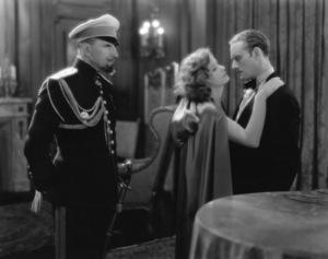 """The Mysterious Lady""Greta Garbo, Conrad Nagel, Gustev Von Seyffertitz1928 MGM - Image 3607_0001"