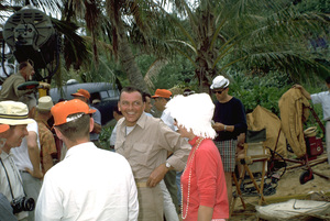 """""""None But The Brave""""Frank Sinatra on location. © 1965 WarnerPhoto by Ted Allan - Image 3619_0001"""