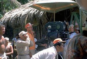 """None But The Brave""Frank Sinatra on location.1964 Warner/ © 1978 David Sutton - Image 3619_0131"