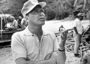 """""""None But The Brave""""Frank Sinatra on location.1965 / © 1978 Ted Allan - Image 3619_0135"""