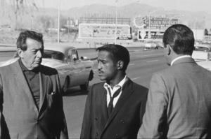"""Dir. Lewis Milestone, Sammy Davis Jr., Buddy Lester """"Ocean"""