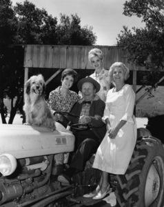 """Petticoat Junction""Linda Henning, Edgar Buchanan, Jeannine Riley, Bea Benaderetcirca 1964Photo by Bud Fraker - Image 3650_0012"