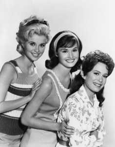 """Petticoat Junction""Gunilla Hutton, Lori Saunders, Linda Henningcirca 1965Photo by Gabi Rona - Image 3650_0023"