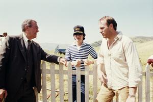 """""""Poltergeist""""James Karen, Steven Spielberg, Craig T. Nelson1982© 1982 Bruce McBroom - Image 3660_0058"""