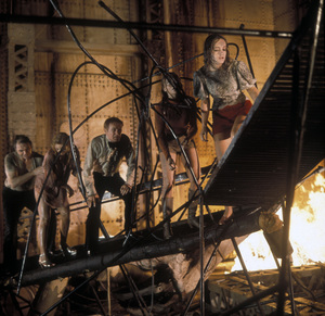"""The Poseidon Adventure""Ernest Borgnine, Stella Stevens, Red Buttons, Carol Lynley, PAmela Sue Martin © 1972 20th Century Fox**I.V. - Image 3662_0009"