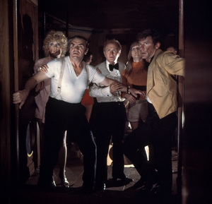 """The Poseidon Adventure""Stella Stevens, Ernest Borgnine, Red Buttons, Carol Lynley, Roddy McDowall © 1972 20th Century Fox** I.V. - Image 3662_0011"