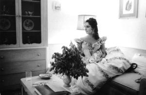 """Raintree County""Elizabeth Taylor behind the scenes1957 © 1978 Bob Willoughby - Image 3678_0042"