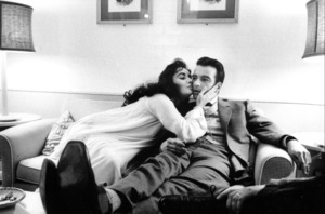 """""""Raintree County""""Elizabeth Taylor and Montgomery Clift during the filming 1957 © 1978 Bob Willoughby - Image 3678_0067"""