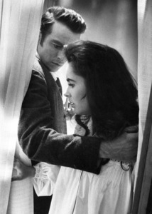 """""""Raintree County""""Montgomery Clift, Elizabeth Taylor1957 © 1978 Bob Willoughby - Image 3678_0071"""