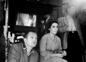 """""""Raintree County""""Elizabeth Taylor and director Edward Dmytrykbehind the scenes/1957 © 1978 Bob Willoughby - Image 3678_0077"""