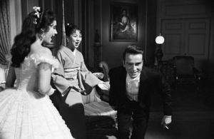 """Raintree County""Elizabeth Taylor, Machiko Kyo, Montgomery Clift1957© 1978 Sanford Roth / A.M.P.A.S. - Image 3678_0116"