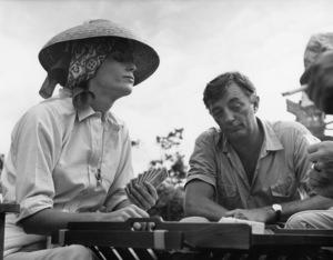 """Rampage""Elsa Martinelli, Robert Mitchum1963 Warner BrothersPhoto by Mel Traxel - Image 3680_0109"