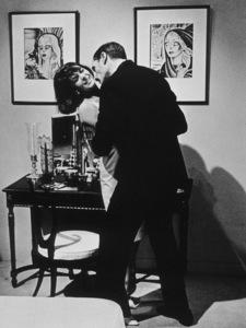 """Sex And The Single Girl,""Natalie Wood & Mel Ferrer.1964/Warner Bros.Photo by Sherman Clark - Image 3714_0101"