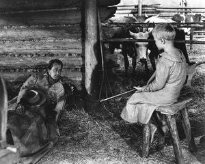 """Shane""Alan Ladd, Brandon De Wilde1953 Paramount Pictures** R.C. - Image 3715_0006"