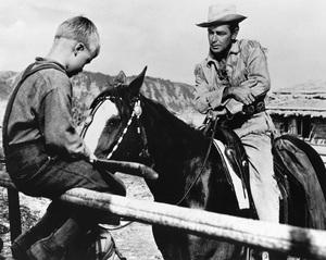 """Shane""Brandon De Wilde, Alan Ladd1953 Paramount Pictures** R.C. - Image 3715_0007"