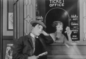 """Sherlock Jr.""Buster Keaton, Ruth Holly1924 MGM**I.V. - Image 3719_0001"