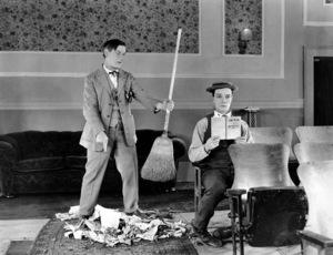 Buster Keaton, SHERLOCK, JR., Metro-Goldwyn, 1924, **I.V. - Image 3719_0003