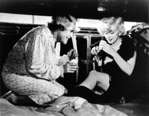 """""""Some Like It Hot""""Jack Lemmon, Marilyn Monroe © 1959 UA / **R.C. - Image 3733_0027"""