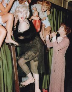 """""""Some Like It Hot""""Marilyn Monroe, Jack Lemmon, Tony Curtis © 1959 UA  - Image 3733_0107"""
