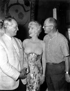 """Some Like It Hot""Maurice Chevalier, Marilyn Monroe,  Billy Wilder 1959 UA / **I.V. - Image 3733_0118"