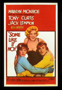 """Some Like it Hot""Poster1959 MGM**I.V. - Image 3733_0137"