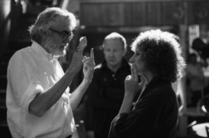 """Director Frank Pierson and Barbra Streisand on the set of """"A Star Is Born""""1976 Warner Bros.** B.D.M. - Image 3746_0025"""