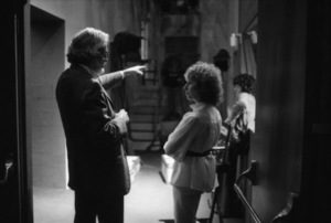 "Director Frank Pierson and Barbra Streisand on the set of ""A Star Is Born""1976 Warner Bros.** B.D.M. - Image 3746_0032"