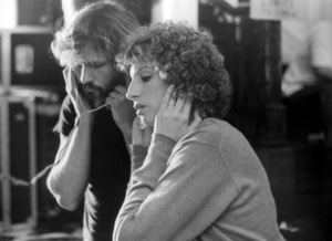 "Kris Kristofferson and Barbra Streisand on the set of ""A Star Is Born""1976 Warner Bros.** B.D.M. - Image 3746_0036"