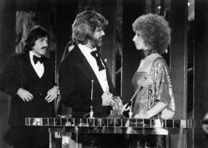 "Tony Orlando, Rita Coolidge, Kris Kristofferson and Barbra Streisand in ""A Star Is Born""1976 Warner Bros.** B.D.M. - Image 3746_0037"