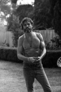 "Kris Kristofferson on the set of ""A Star Is Born""1976 Warner Bros.** B.D.M. - Image 3746_0042"