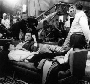 "Judy Garland, James Mason, Dir. George Cukor, Choreographer Richard Barstow.""A Star Is Born,"" 1954. © 1978 Bob Willoughby - Image 3747_0135"