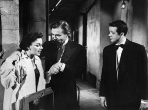 """Judy Garland, James Mason and Tom Noonan in """"A Star is Born""""1954 Warner Bros.** I.V. - Image 3747_0137"""
