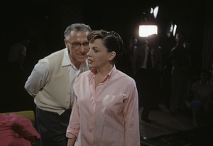 """A Star Is Born""Director George Cukor, Judy Garland1954© 1978 Bob Willoughby - Image 3747_0160"