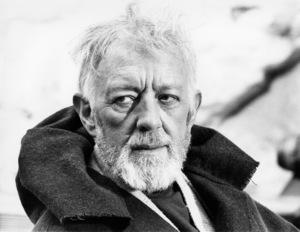 """Star Wars"" Alec Guinness1977 Lucasfilm© 1978 John Jay - Image 3748_0154"