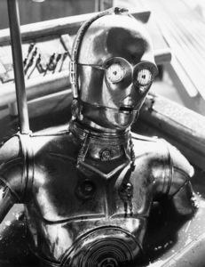 """Star Wars"" C3PO (Anthony Daniels)1977 Lucasfilm© 1978 John Jay - Image 3748_0162"