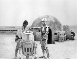 """Star Wars"" Mark Hamill and Anthony Daniels1977 Lucasfilm© 1978 John Jay - Image 3748_0163"