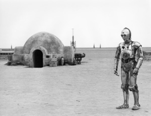 """Star Wars"" Anthony Daniels1977 Lucasfilm© 1978 John Jay - Image 3748_0164"