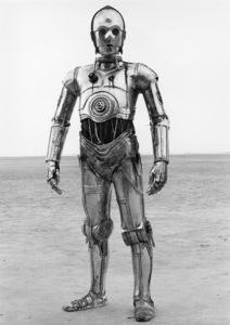 """Star Wars"" Anthony Daniels1977 Lucasfilm© 1978 John Jay - Image 3748_0166"