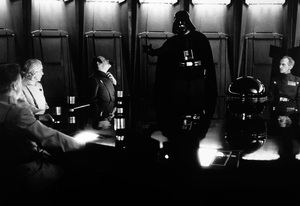 """Star Wars""David Prowse, Peter Cushing1977 LucasfilmPhoto by John Jay - Image 3748_0170"