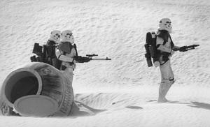 """Star Wars""Storm Troopers1977 Lucasfilm © 1978 John Jay - Image 3748_0173"