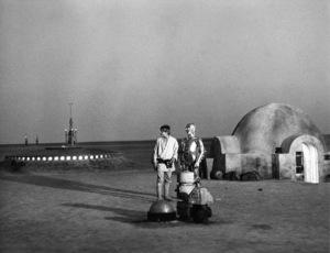 """Star Wars"" Mark Hamill and Anthony Daniels1977 Lucasfilm© 1978 John Jay - Image 3748_0174"