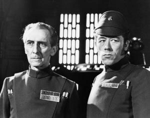 """""""Star Wars"""" Peter Cushing1977 Lucasfilm© 1978 John Jay - Image 3748_0196"""